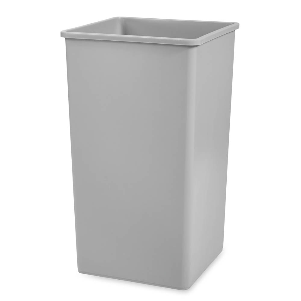 Rubbermaid FG395900GRAY 50 gal Multiple Material Recycle Bin - Indoor/Outdoor