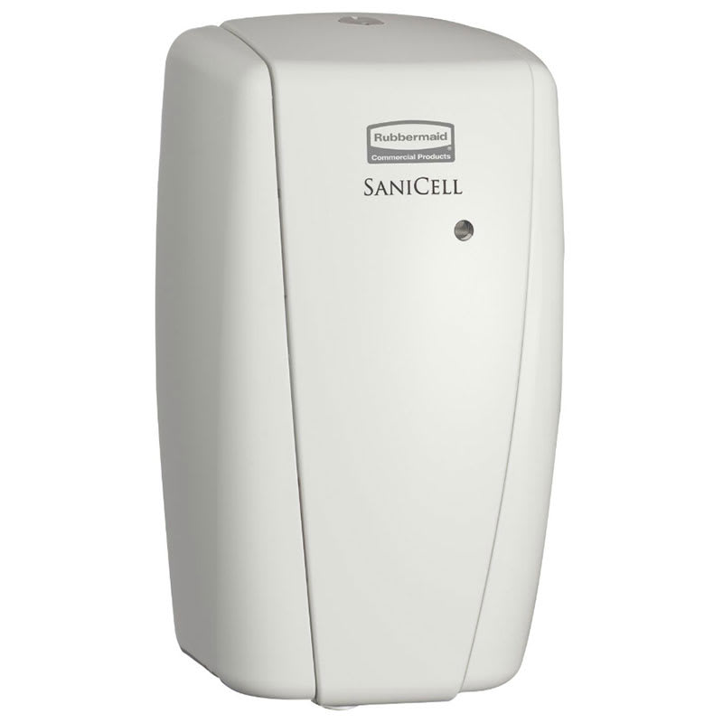 "Rubbermaid 4870489 SaniCell Wall LED Dispenser - 3x5-1/5-x7-3/5"" White"