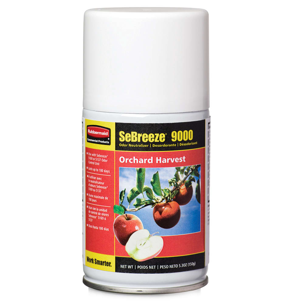 Rubbermaid FG5168000000 5.25 oz SeBreeze® Fragrance Aerosol Canister for 5137 & 5169 Units, Multi-Scent