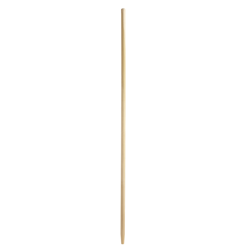 "Rubbermaid FG636200NAT 60"" Tapered Wood Broom Handle - Natural"