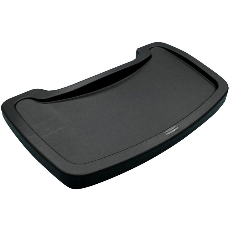 Rubbermaid FG781588BLA Tray for Sturdy Chair Youth Seat, Black