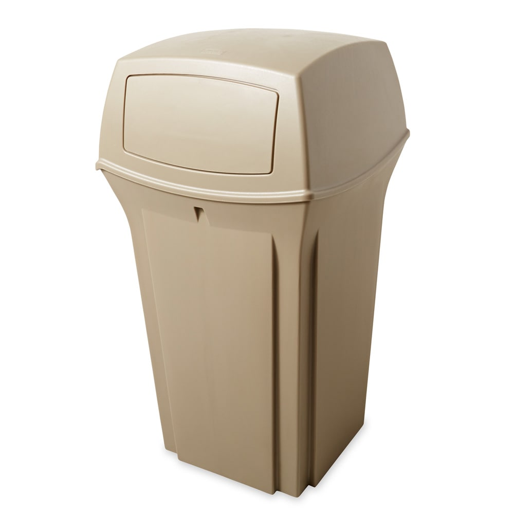 Rubbermaid FG843088BEIG 35 gal Ranger Classic Container - Beige