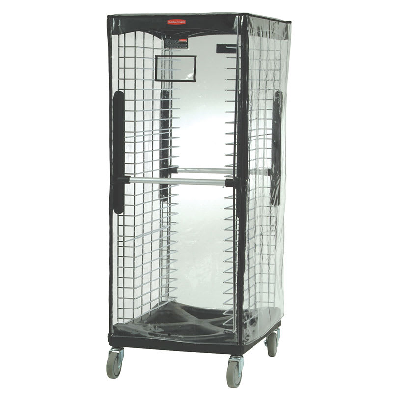 Rubbermaid FG9F9000CLR Rack Cover for ProServe™ 9F97/9F98 & Max System® 3320, Clear Vinyl