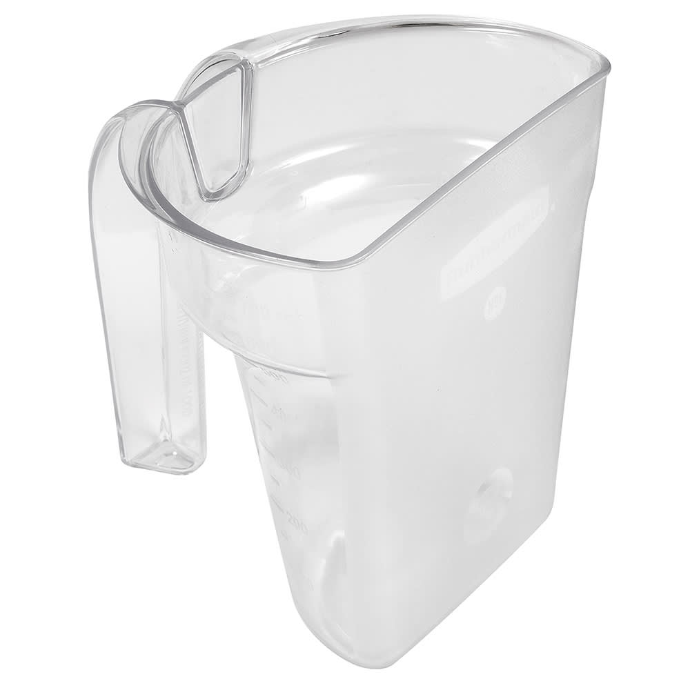 Rubbermaid FG9G5200CLR 24 oz Safety Portioning Scoop - Clear