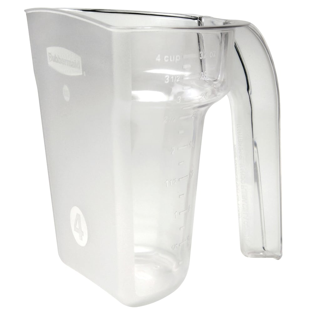 Rubbermaid FG9G5300CLR 32-oz Safety Portioning Scoop - Clear