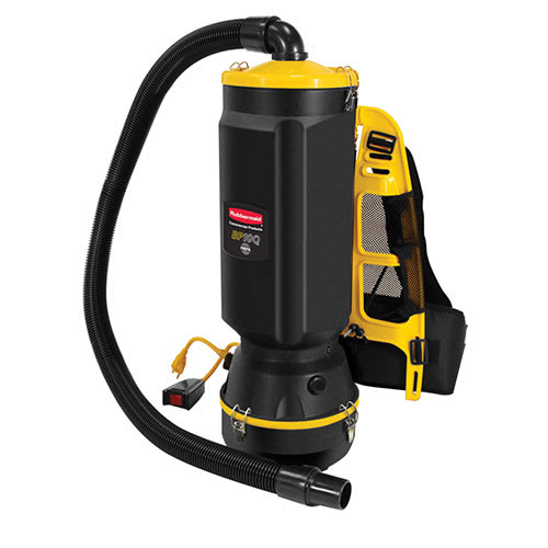 Rubbermaid 1868435 10-qt HEPA Backpack Vacuum - Black