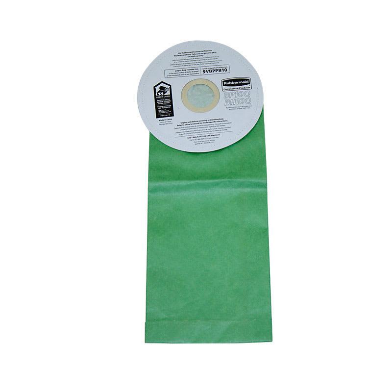 Rubbermaid FG9VBPPB10 10-qt Replacement Vacuum Cleaner Bag for 9VBP10 & 9VBH10
