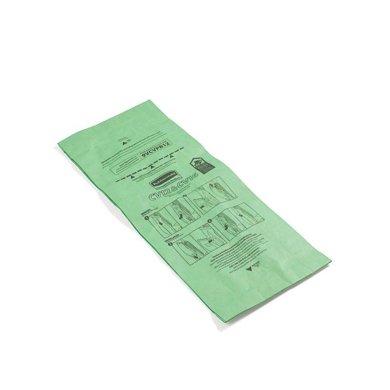 Rubbermaid FG9VCVPB12 Replacement Upright Vacuum Paper Bag - (9VCV12) (9VCV16)