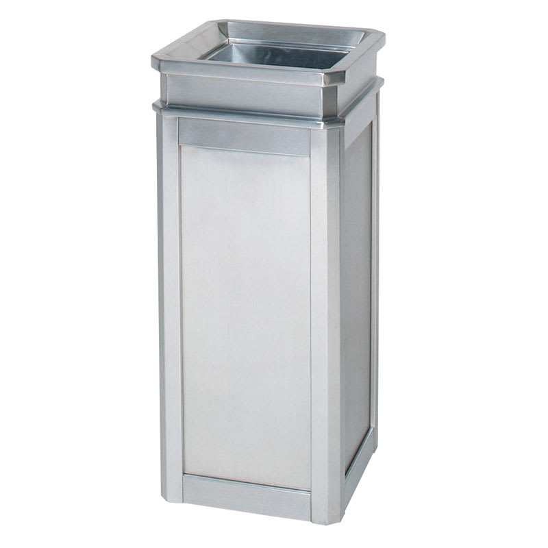 Rubbermaid FGDS12TSSS 5-gal Indoor Decorative Trash Can - Metal, Stainless Steel