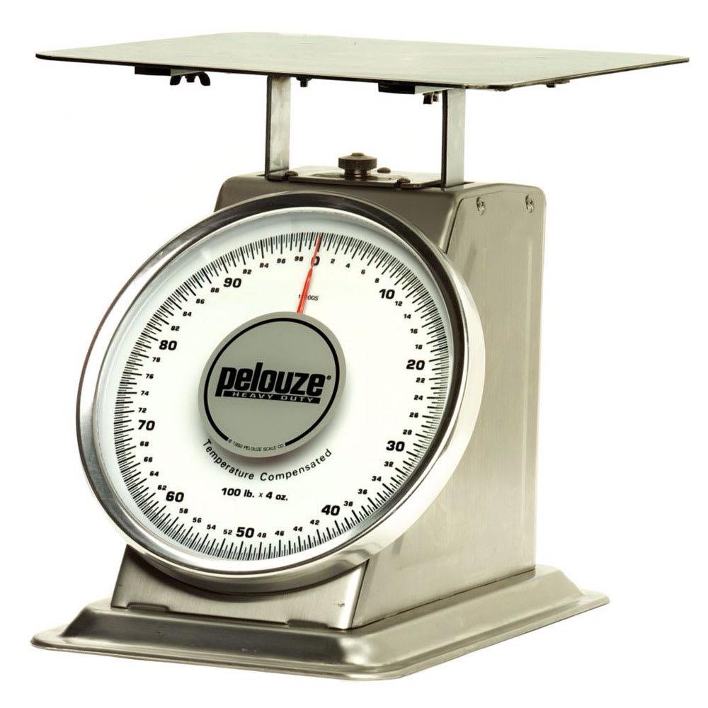 Rubbermaid FG10100S Pelouze Dial-Type Portion Control Scale - 100-lb x 4-oz