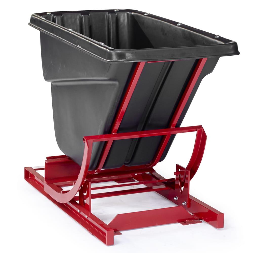 Rubbermaid FG106900 BLA 2 cu yd Trash Cart w/ 1000 lb Capacity, Black