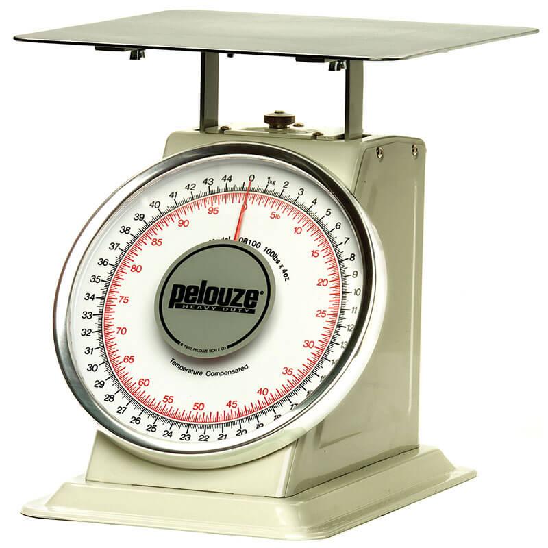 Rubbermaid FG10B200 Pelouze Dial-Type Scale - 200-lb x 8-oz/90-kg x 250-g