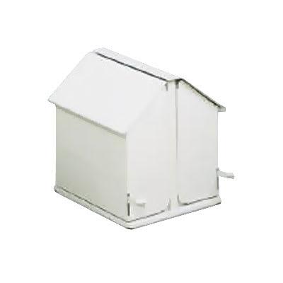 Rubbermaid FG13 Double Stall Sanitary Napkin Receptacle - Floor Model, White