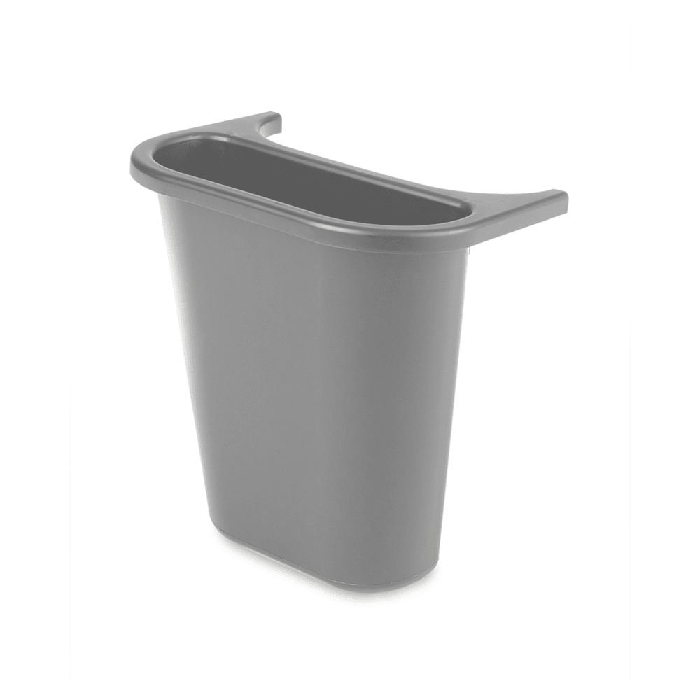 Rubbermaid FG295073 GRAY 3.4 gal Multiple Material Recycle Bin - Indoor