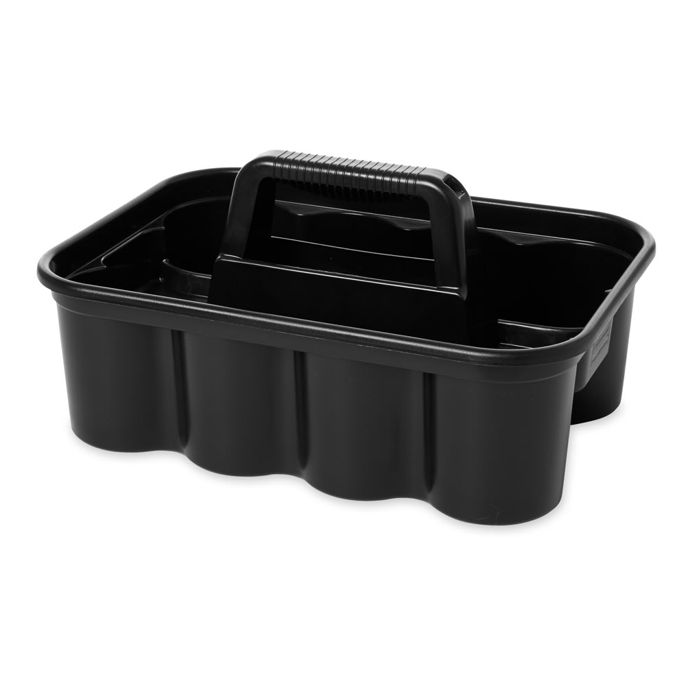 "Rubbermaid FG315488BLA Deluxe Carry Caddy - 16x11x6-3/4"" Black"