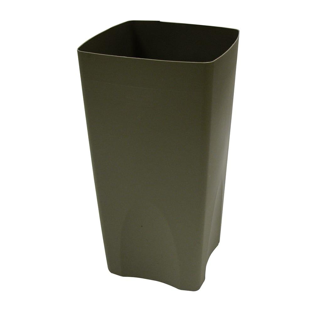 Rubbermaid FG356300BEIG 19-gal Square Rigid Trash Can Liner, Plastic - Beige