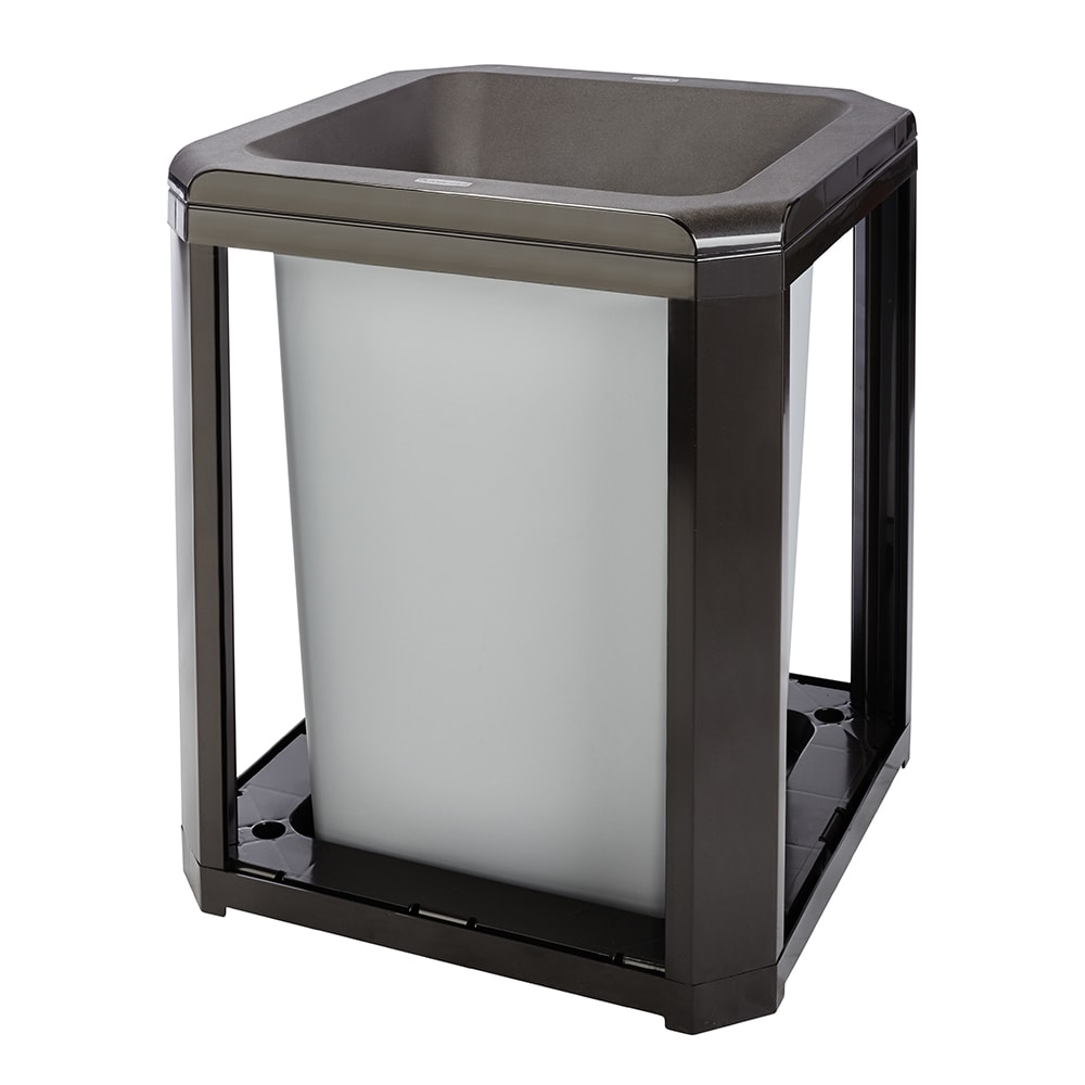 "Rubbermaid FG397200 SBLE 35 gal Landmark Series Container - 26x26x30 1/2"" Large Opening, Sable"