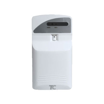 Rubbermaid FG400695 Nonaerosol Pump Odor Control System w/ LED Display, White
