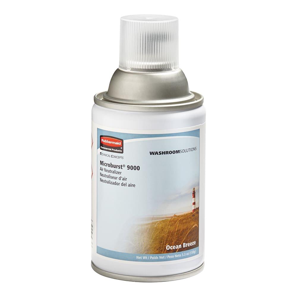 Rubbermaid FG4012471 Microburst 9000  Air Neutralizer Refill - Ocean Breeze