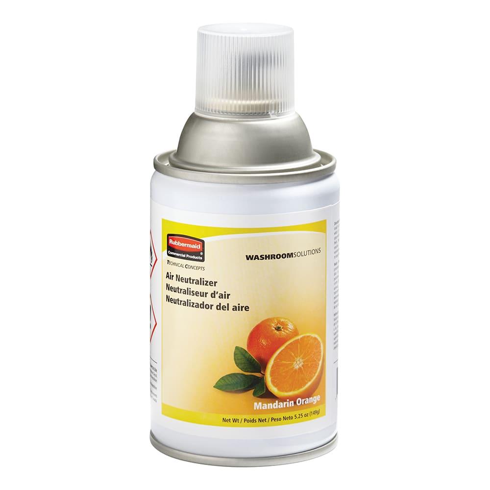 Rubbermaid FG401504 Aerosol Air Neutralizer Refill - Mandarin Orange