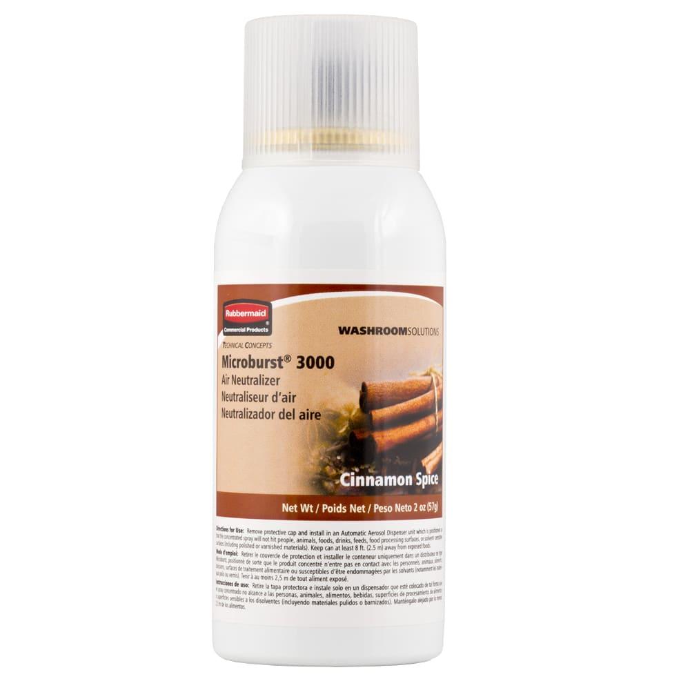 Rubbermaid FG401689 Microburst 3000  Air Neutralizer Refill - Cinnamon
