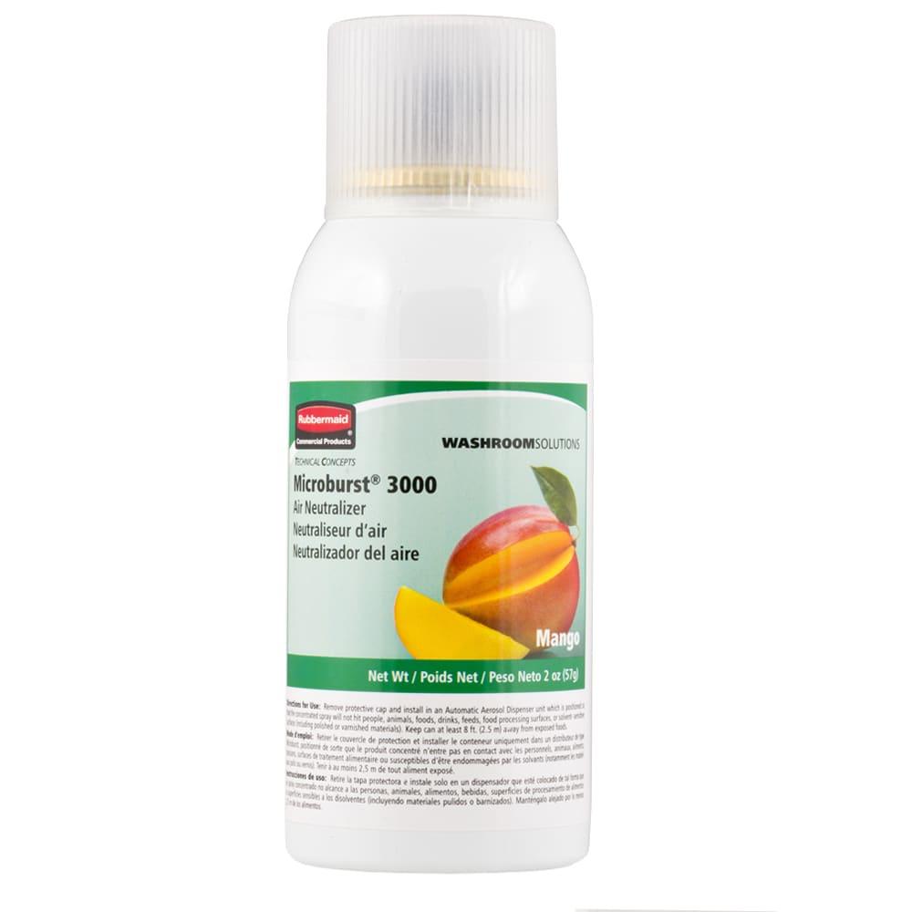 Rubbermaid FG401690 Microburst 3000  Air Neutralizer Refill - Mango