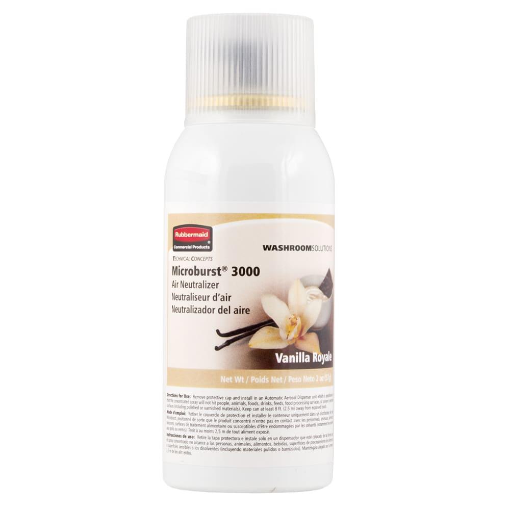 Rubbermaid FG401691 Microburst 3000  Air Neutralizer Refill - Vanilla