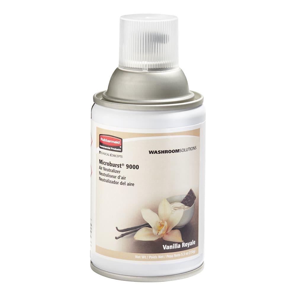 Rubbermaid FG401694 Microburst 9000  Air Neutralizer Refill - Vanilla Royale