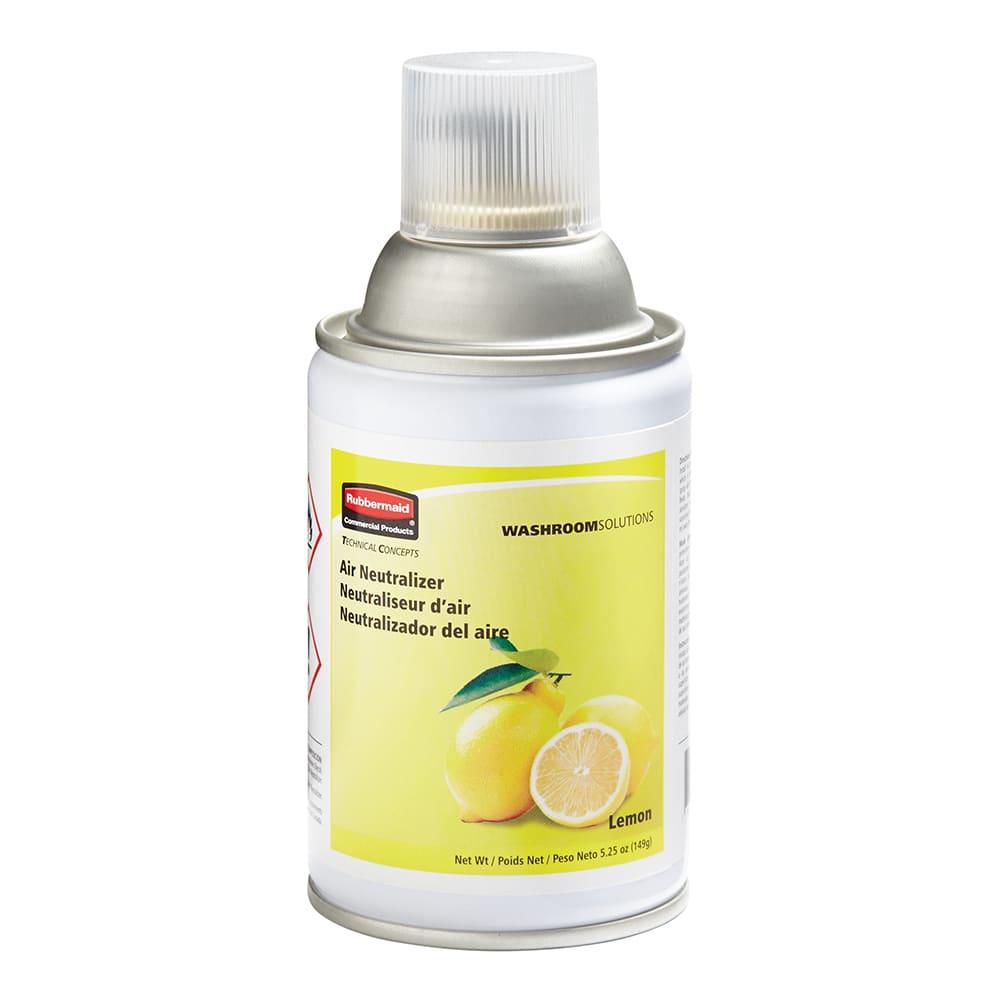 Rubbermaid FG401909 5.25 oz Aerosol Air Neutralizer Refill, Lemon