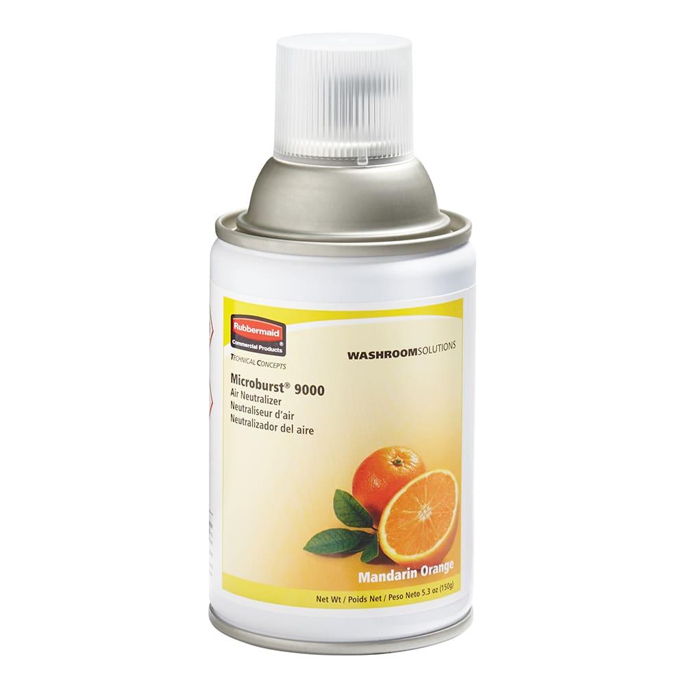 Rubbermaid FG402093 Microburst 9000  Air Neutralizer Refill - Mandarin Orange