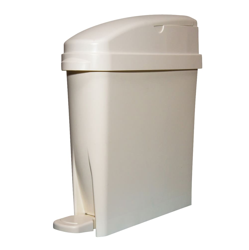 Rubbermaid FG402338 5-gal Sanitary Bin - White