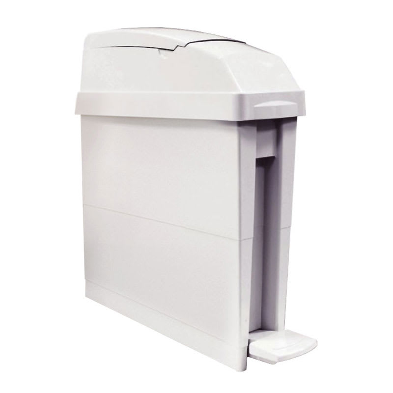 Rubbermaid FG402413 5-gal Sanitary Waste Bin - Gray
