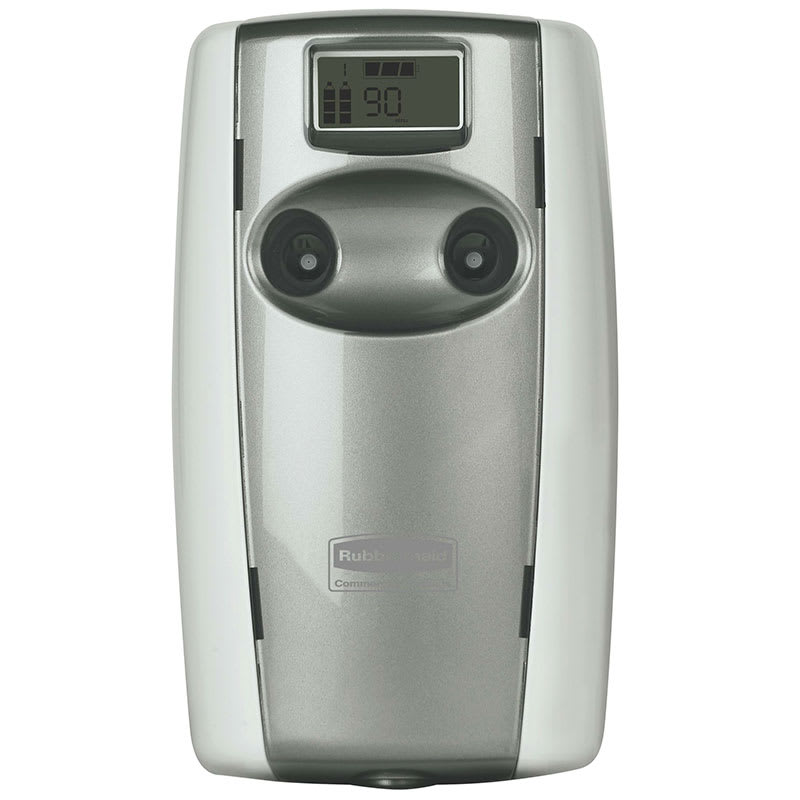 Rubbermaid FG4870001 Microburst® Duet Aerosol Dispenser w/ Alternating Scents, White/Gray