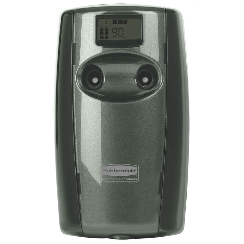 Rubbermaid FG4870002 Microburst Duet Odor Control Dispenser - Black/Black Pearl