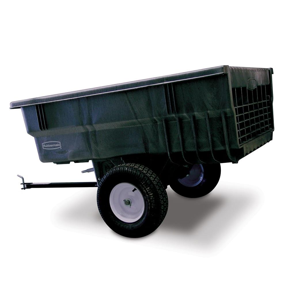 Rubbermaid FG566361 BLA .56-cu yd Trash Cart w/ 1500-lb Capacity, Black