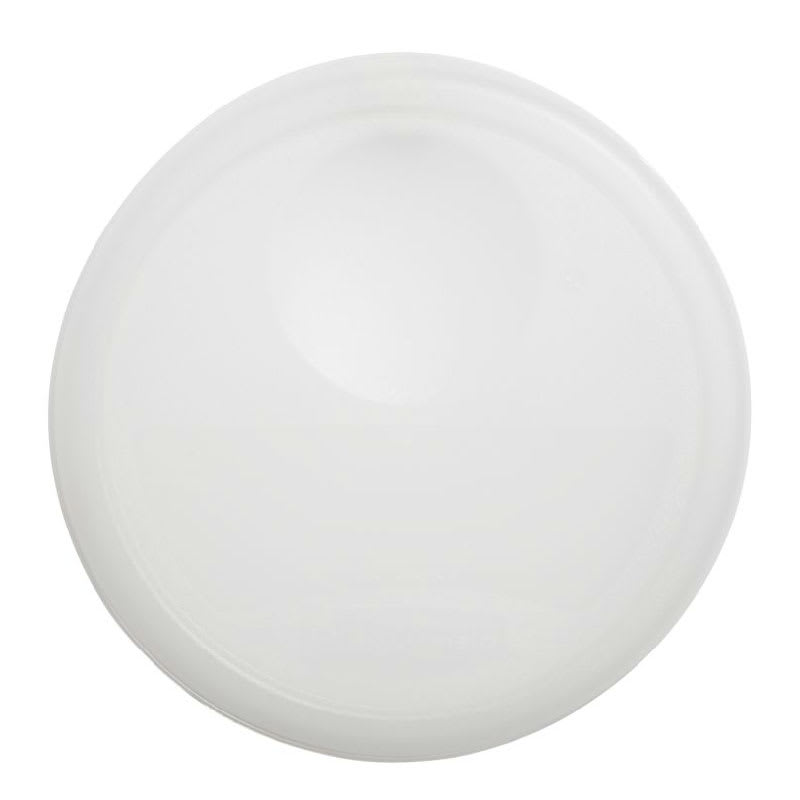 """Rubbermaid FG572500 NAT 10-1/4"""" Round Storage Container Lid - Natural"""