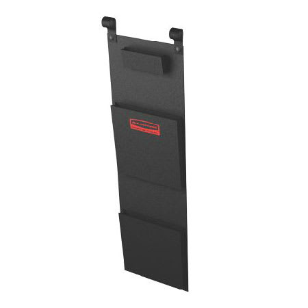 Rubbermaid FG617800BLA Fabric Literature Organizer, Black