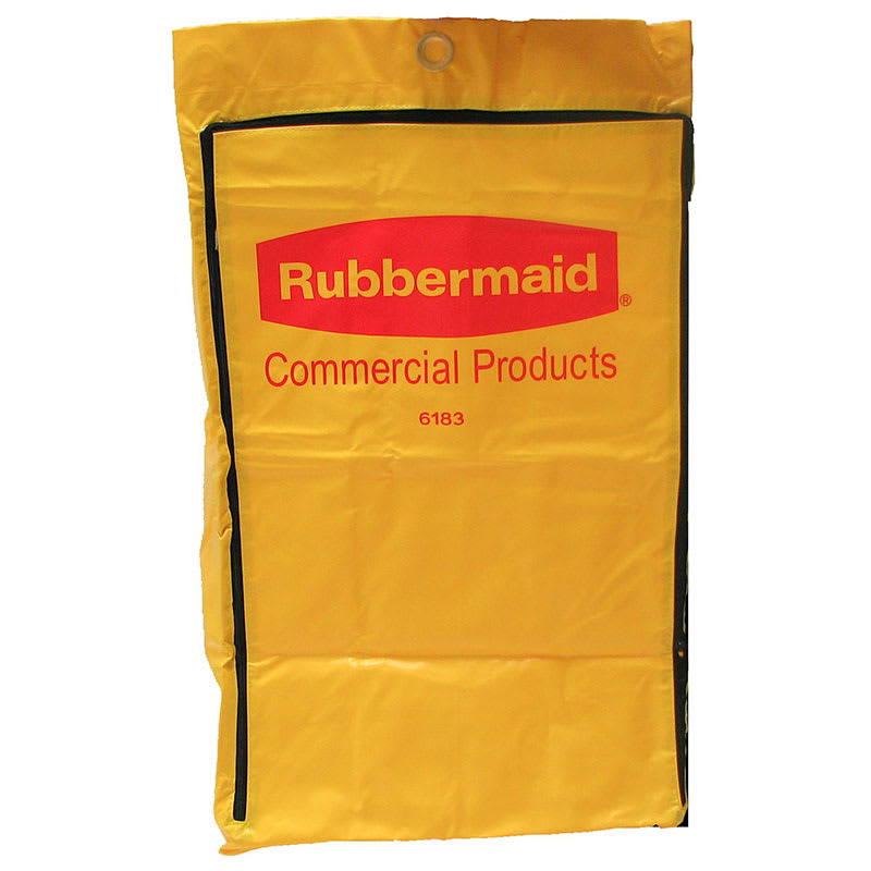 Rubbermaid FG618300 YEL Janitor Cart Replacement Bag