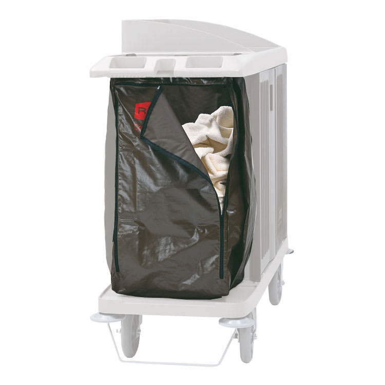 Rubbermaid FG619300 BRN Replacement Bag for 6189, 6190, 6191, 6192 & 9T19 Housekeeping Carts