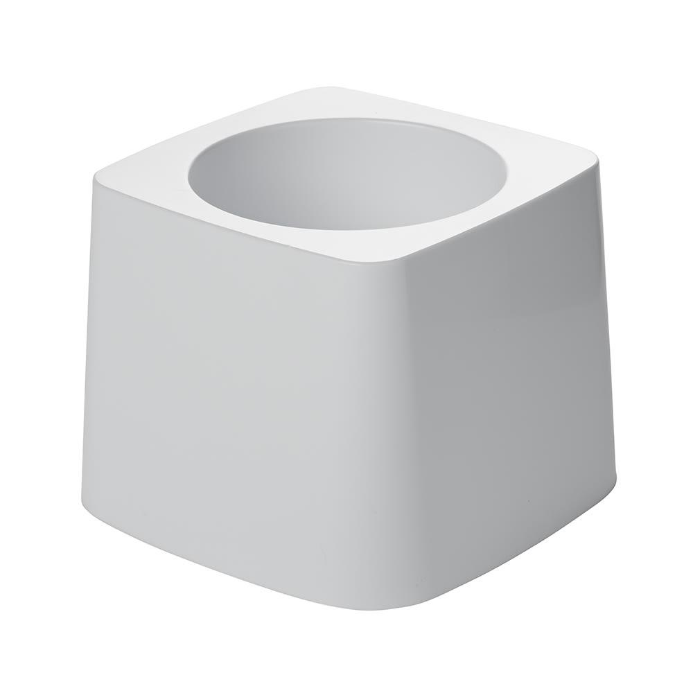 Rubbermaid FG631100 WHT Toilet Bowl Brush Holder - White