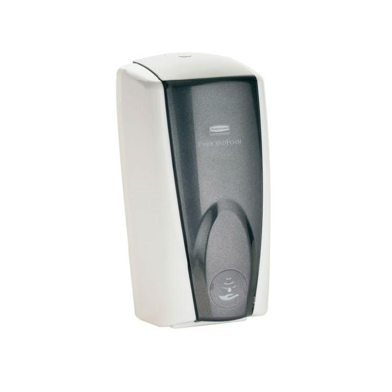 Rubbermaid FG750138 1100 ml Touch Free Wall Mount AutoFoam Soap Dispenser, White/Black