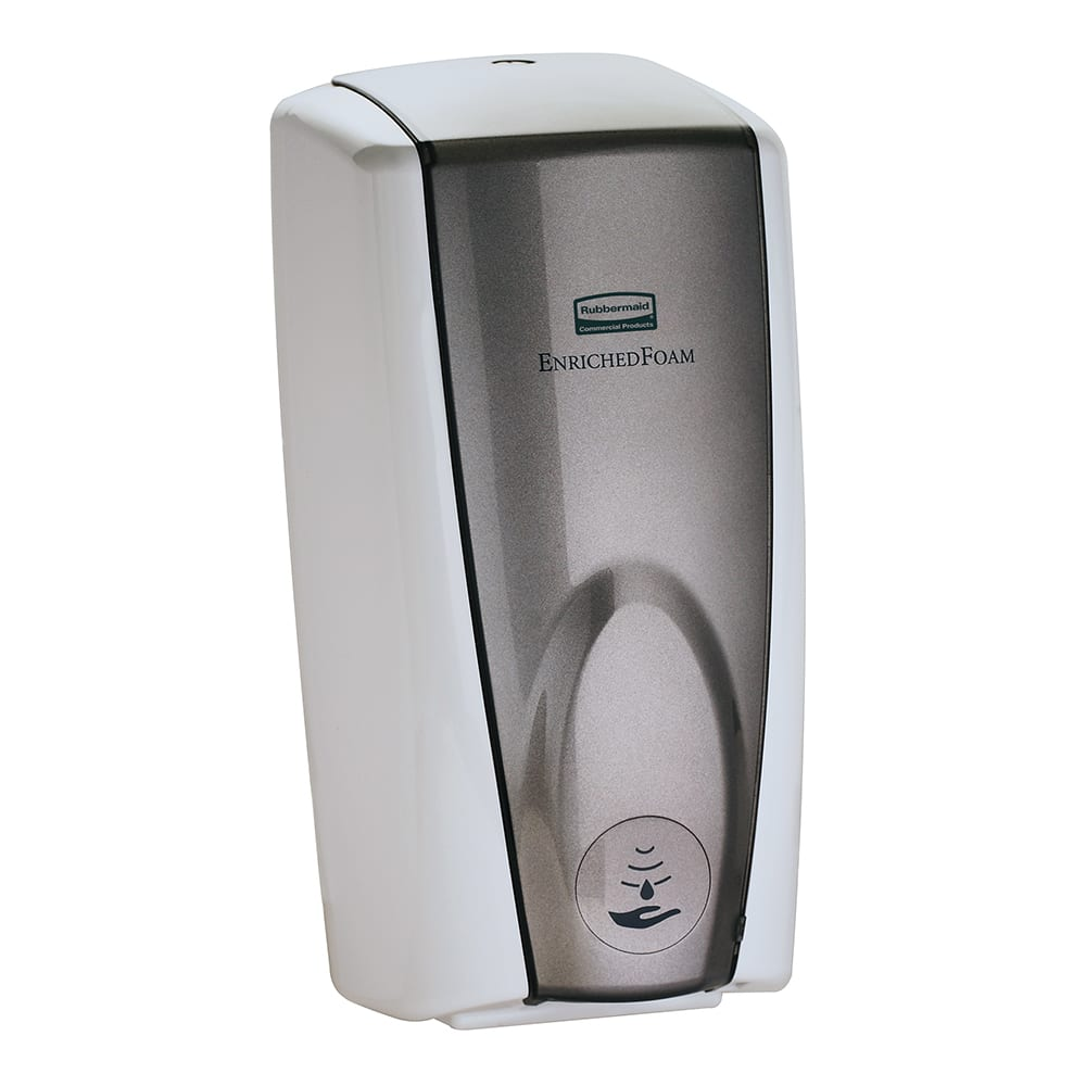Rubbermaid FG750140 1100 ml AutoFoam Soap Dispenser - White/Gray Pearl