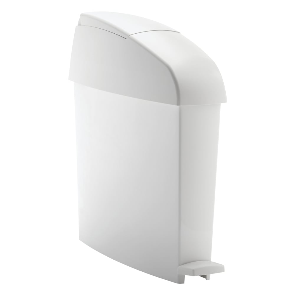 Rubbermaid FG750243 3 gal Sanitary Waste Bin - White