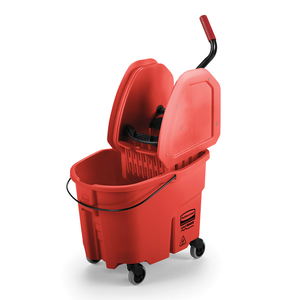 Rubbermaid FG757888 RED 35-qt WaveBrake Specialty Mopping Combo - Red