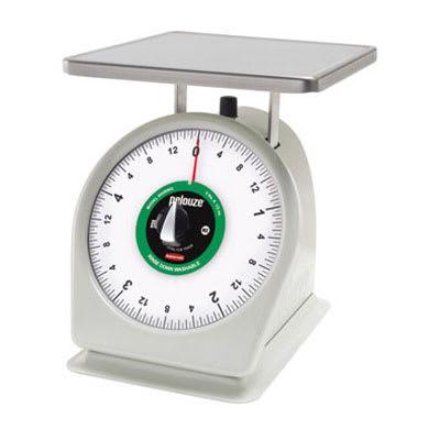 Rubbermaid FG805RWQ Pelouze Portion Scale - Dial Type, 5-lb x 1/2-oz, Stainless