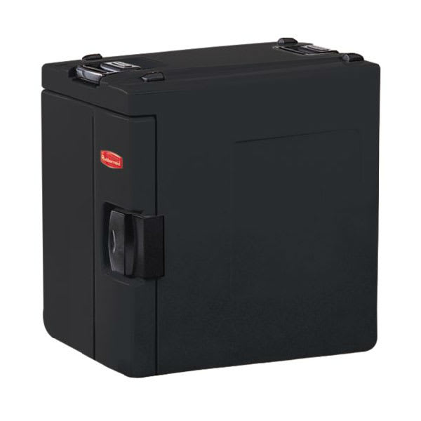Rubbermaid FG940800 BLA CaterMax 100 Insulated Carrier - 4 Food Pans, Black