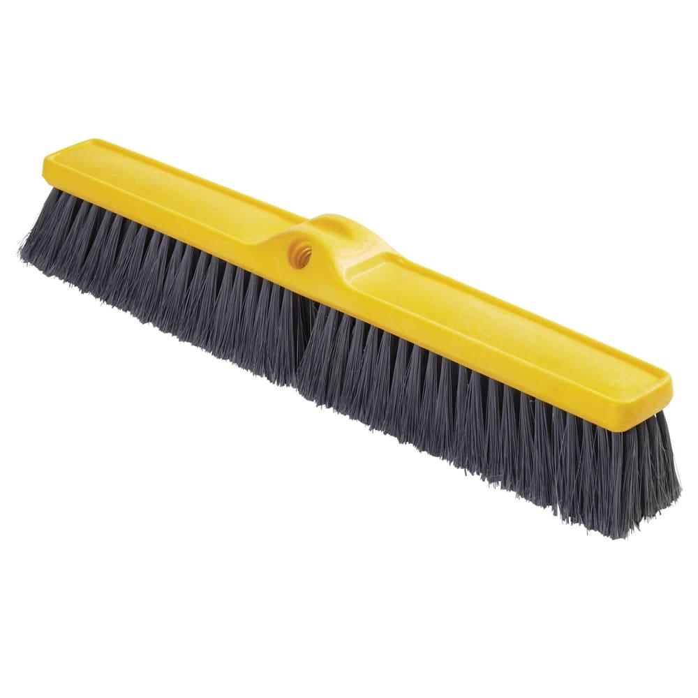 """Rubbermaid FG9B0200GRAY 18"""" Floor Sweep - Fine, Plastic/Styrene, Gray"""