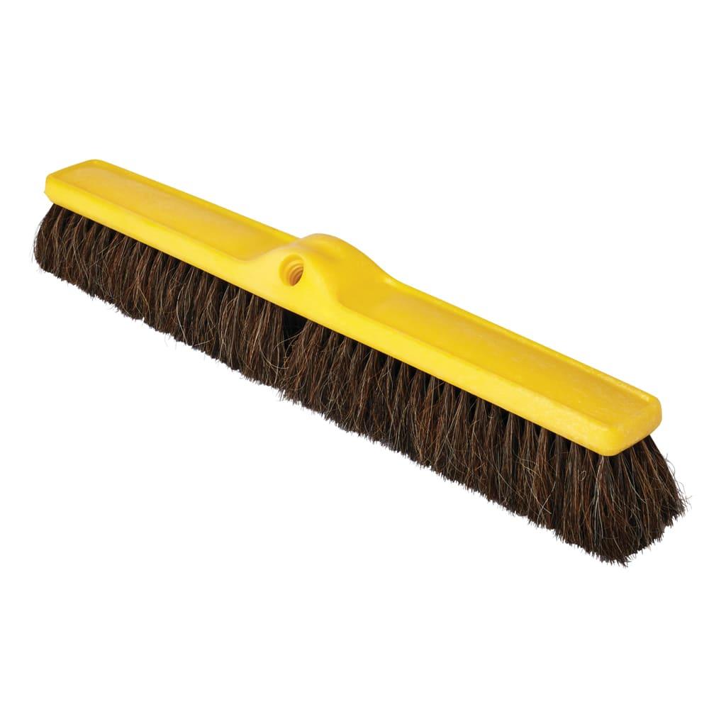 "Rubbermaid FG9B0300BLA 24"" Floor Sweep - Fine, Plastic/Poly, Black"