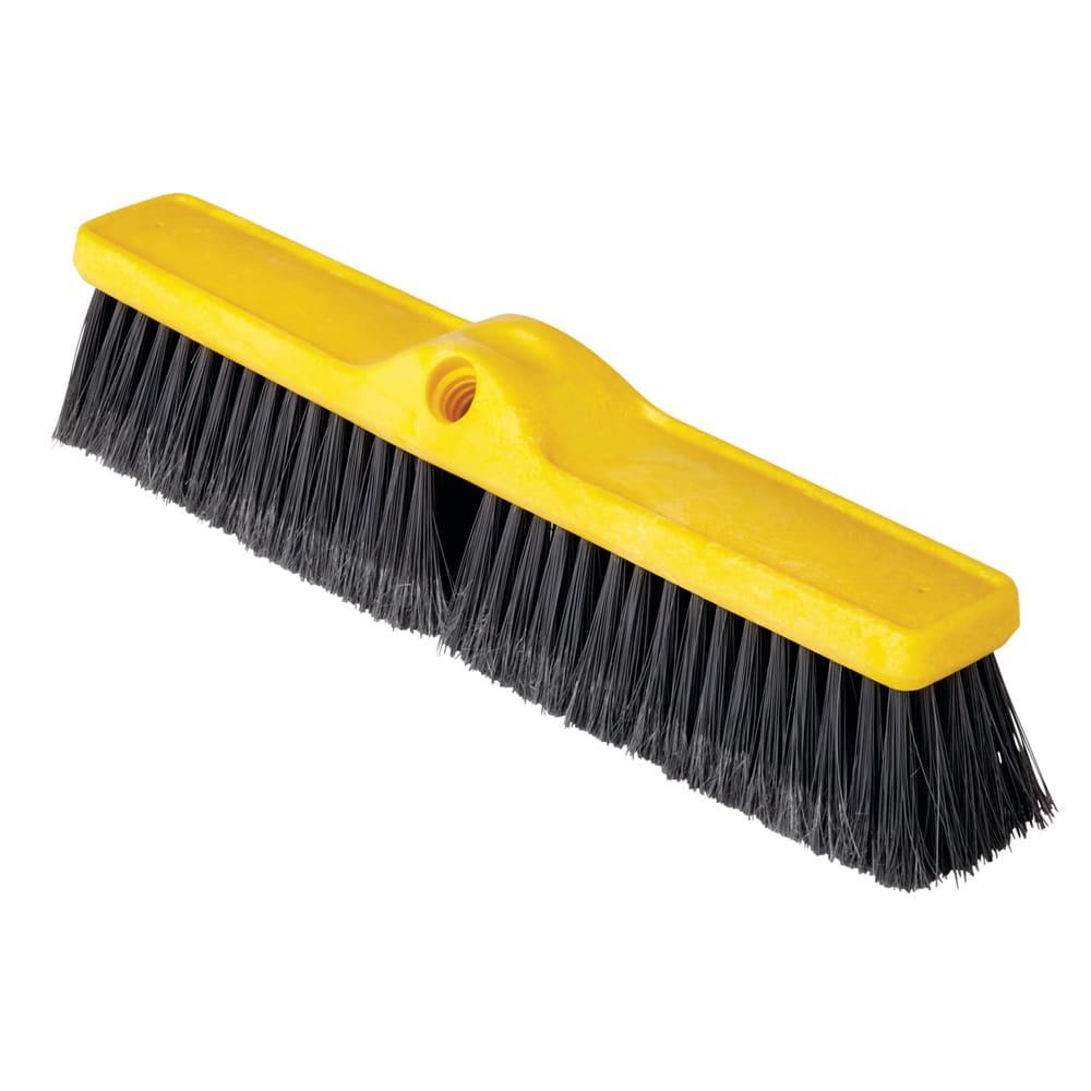 "Rubbermaid FG9B0800GRAY 18"" Floor Sweep - Medium, Plastic/Poly, Gray"