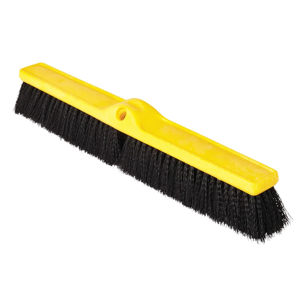 "Rubbermaid FG9B0900BLA 24"" Floor Sweep - Medium, Plastic/Poly, Black"
